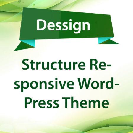 Dessign Structure Responsive WordPress Theme