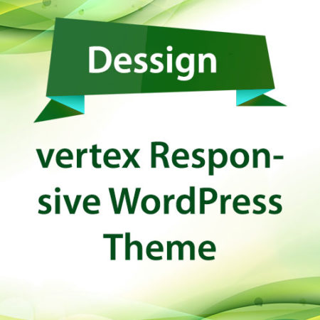 Dessign vertex Responsive WordPress Theme