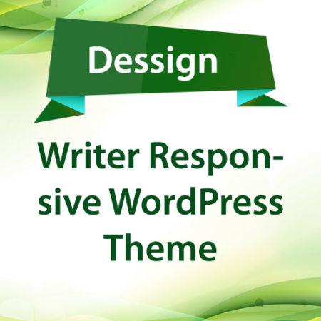 Dessign Writer Responsive WordPress Theme
