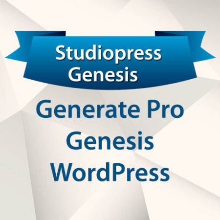 StudioPress Generate Pro Genesis WordPress Theme