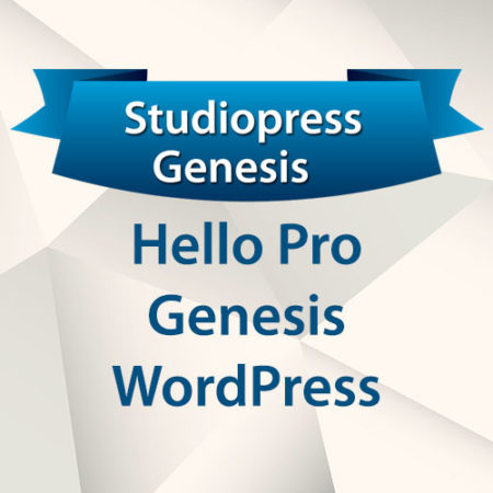 StudioPress Hello Pro Genesis WordPress Theme