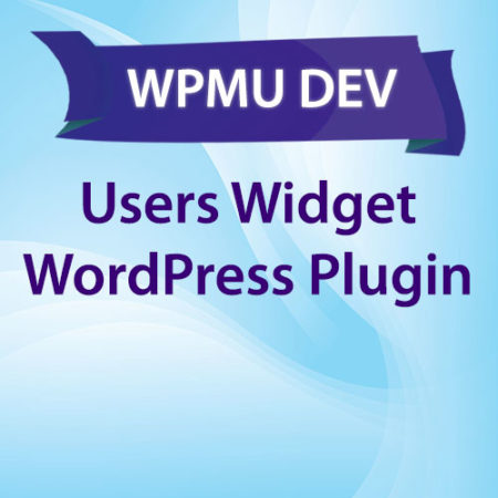 WPMU DEV Users Widget WordPress Plugin