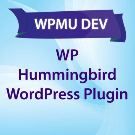 WPMU DEV WP Hummingbird WordPress Plugin