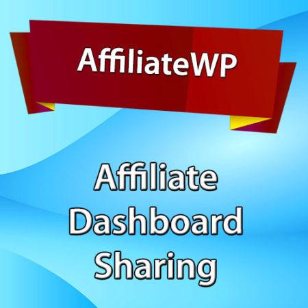 AffiliateWP Affiliate Dashboard Sharing