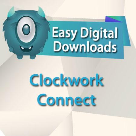Easy Digital Downloads Clockwork Connect