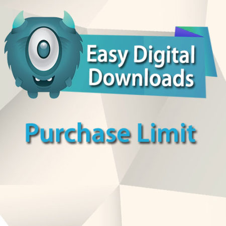 Easy Digital Downloads Purchase Limit