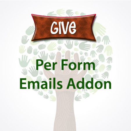 Give Per Form Emails Addon