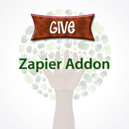 Give Zapier Addon