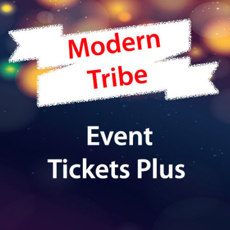Modern Tribe Event Tickets Plus WordPress Plugin