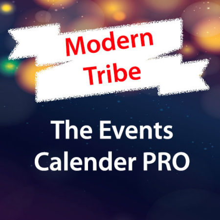 Modern Tribe The Events Calender PRO WordPress Plugin