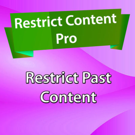Restrict Content Pro Restrict Past Content