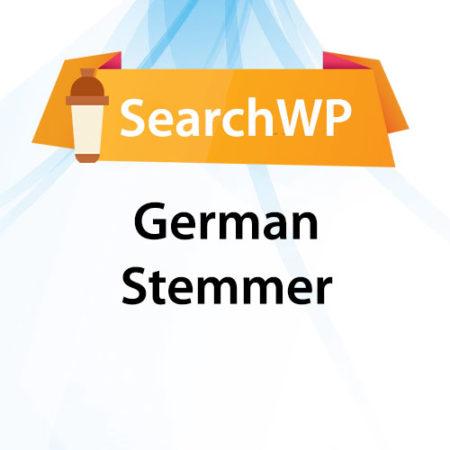 SearchWP German Stemmer