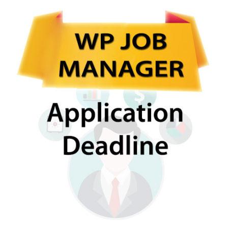 WP Job Manager Application Deadline