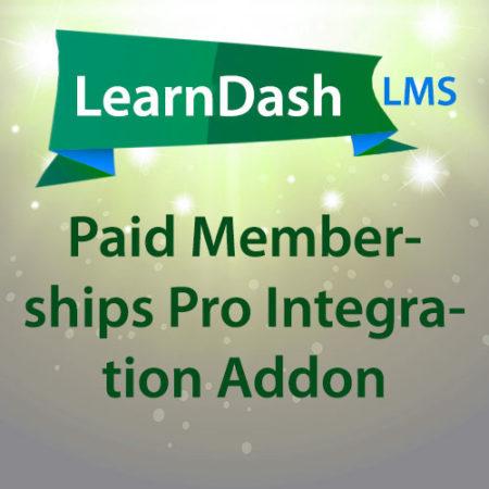LearnDash LMS Paid Memberships Pro Integration Addon