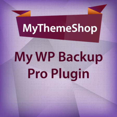 MyThemeShop My WP Backup Pro Plugin