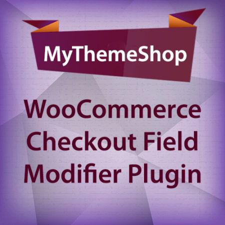MyThemeShop WooCommerce Checkout Field Modifier Plugin