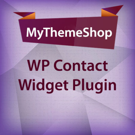 MyThemeShop WP Contact Widget Plugin