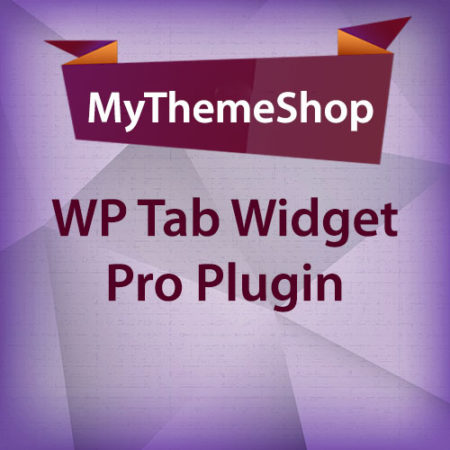 MyThemeShop WP Tab Widget Pro Plugin