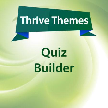 Thrive Themes Quiz Builder Plugin