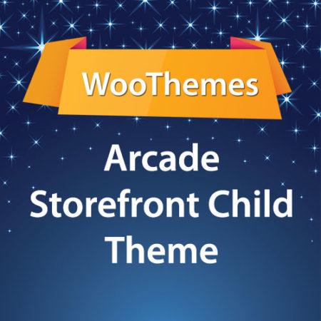 WooThemes Arcade Storefront WooCommerce Theme