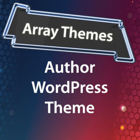 Array Themes Author WordPress Theme
