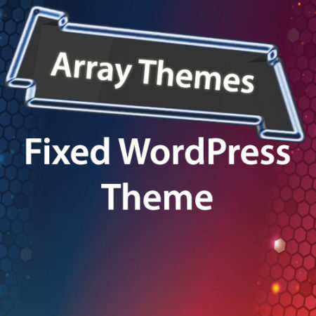 Array Themes Fixed WordPress Theme