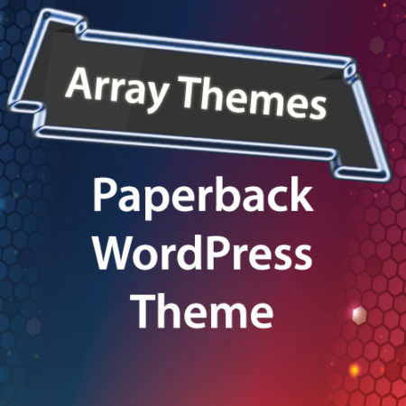 Array Themes Paperback WordPress Theme
