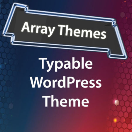 Array Themes Typable WordPress Theme