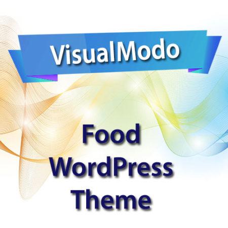 VisualModo Food WordPress Theme