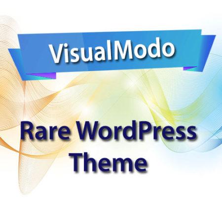 VisualModo Rare WordPress Theme