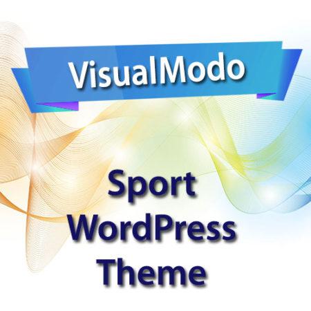 VisualModo Sport WordPress Theme
