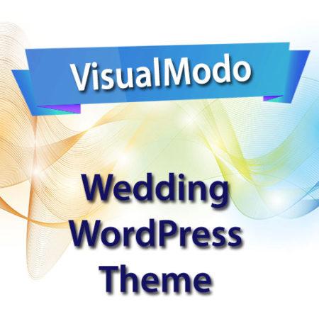 VisualModo Wedding WordPress Theme