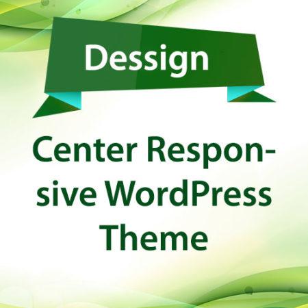 Dessign Center Responsive WordPress Theme