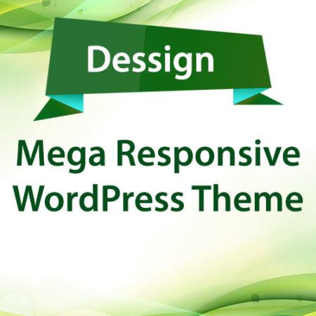 Dessign Mega Responsive WordPress Theme