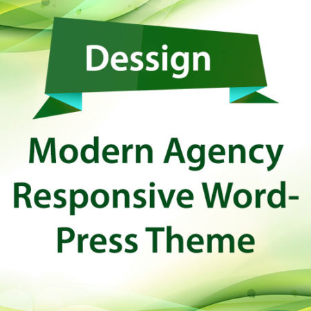 Dessign Modern Agency Responsive WordPress Theme