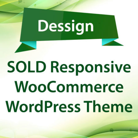 Dessign SOLD Responsive WooCommerce WordPress Theme Premium