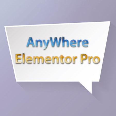 AnyWhere Elementor Pro WordPress Plugin