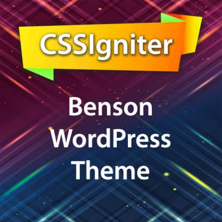 CSSIgniter Benson WordPress Theme