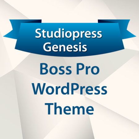 StudioPress Boss Pro WordPress Theme