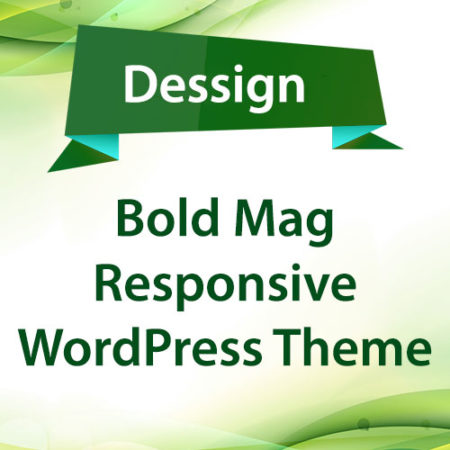 Dessign Bold Mag Responsive WordPress Theme