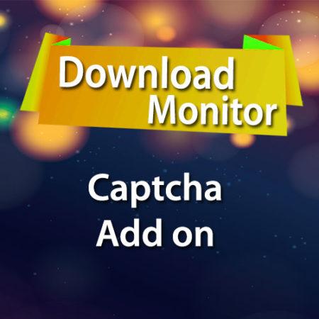 Download Monitor Captcha Add on