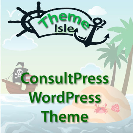 ThemeIsle ConsultPress WordPress Theme