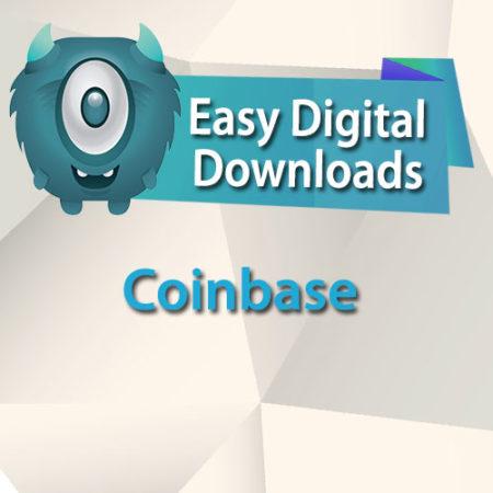 Easy Digital Downloads Coinbase