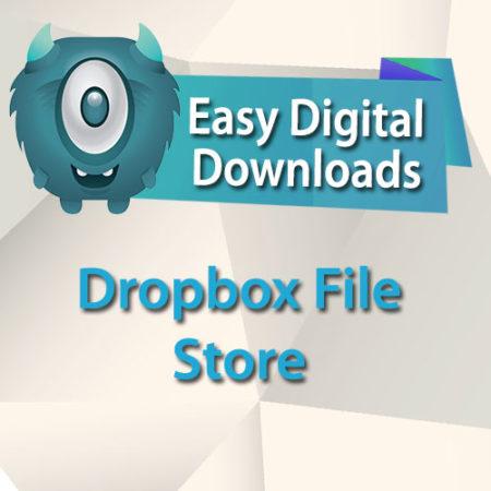 Easy Digital Downloads Dropbox File Store