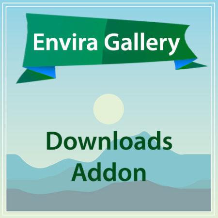 Envira Gallery Downloads Addon