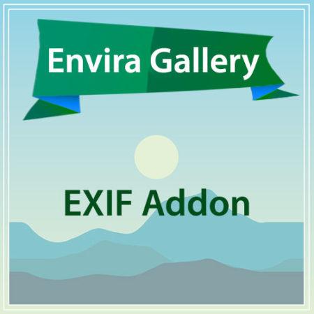 Envira Gallery EXIF Addon