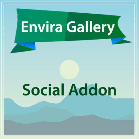 Envira Gallery Social Addon