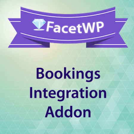 FacetWP Bookings Integration Addon