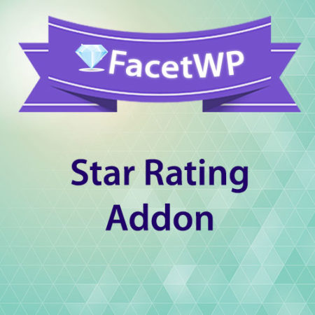 FacetWP Star Rating Addon