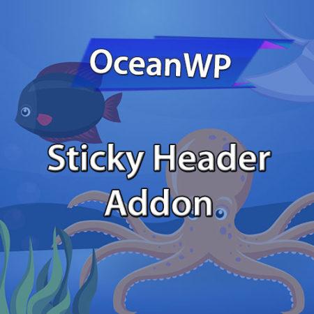 OceanWP Sticky Header Addon